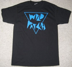 Wild Pitch Records T-shirt Black
