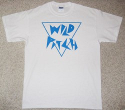 Wild Pitch Records T-shirt White