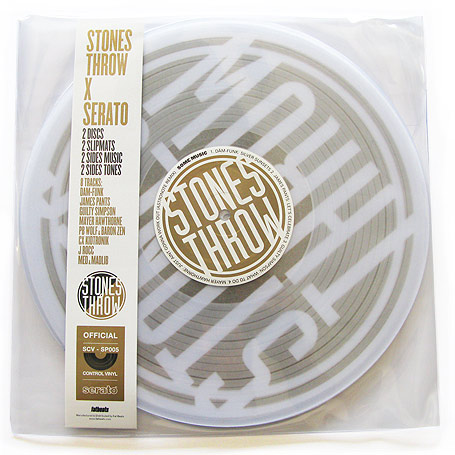 Stones Throw x Serato - Clear Vinyl + Slipmats! STH2222
